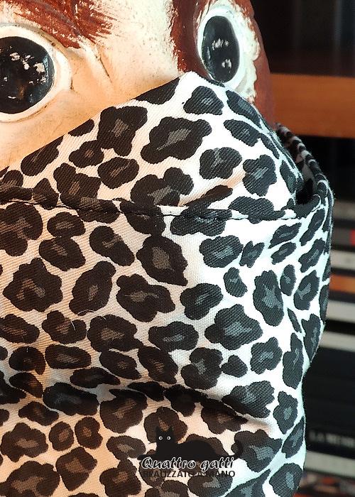 profilo mascherina coprinaso maculata base bianca